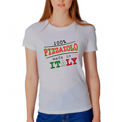 T-SHIRT 100% PIZZAIOLO MADE IN ITALY